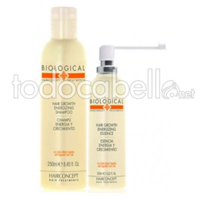 HC Hairconcept BIOLOGICAL Growth Pack Energía y Crecimiento